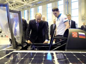 Представят първия соларен автомобил в Русия