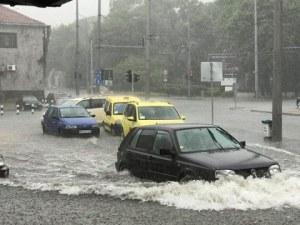 Потоп в Бургас! Градушка удари Южното Черноморие СНИМКИ и ВИДЕО