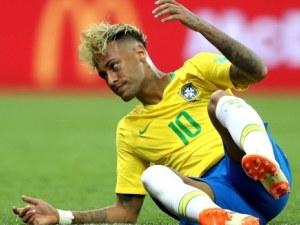 В Бразилия разкъсаха Неймар - играл егоистично и вулгарно