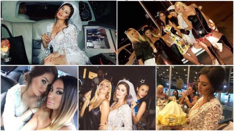 40 полуголи натовци се снимат с момичетата на моминското парти на Гергана Генкова СНИМКИ