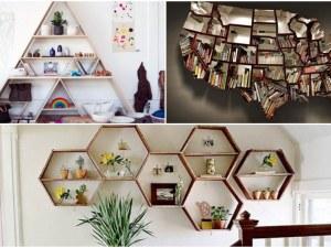 Разчупете дизайна на дома си с няколко идеи за уникални рафтове СНИМКИ