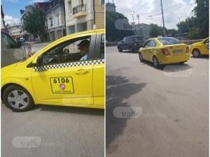 """Шофьор на такси в Пловдив бута клиентка от колата: """"Не те ли е срам, бе, боклук"""" СНИМКИ"""