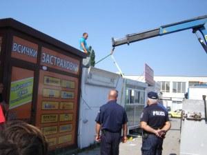 Багери атакуваха Шекера в Пловдив! СНИМКИ