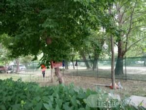 Два блока в Кършияка готвят бунт! Фирма, приближена до хазартен бос, иска да строи в парк