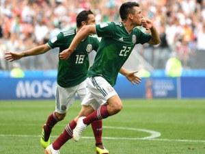 Мексико гледа към осминафиналите след победа над Южна Корея