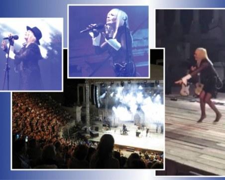Дъждът изплаши Лили Иванова! Концертът на Античния се отменя!