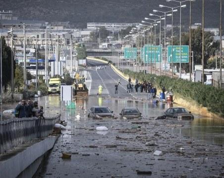 Паника заради трусове и бури в Гърция ВИДЕО