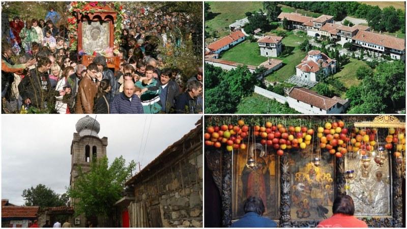 Едни от най-чудотворните икони у нас се намират само на няколко километра от Пловдив СНИМКИ