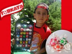 Седми фен на пловдивските бонбони грабва маркова футболна топка СНИМКИ
