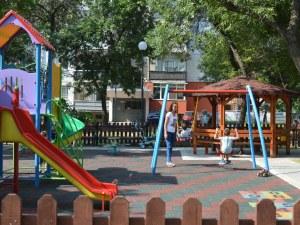 Откриха детска площадка за над 50 бона в Кючука СНИМКИ