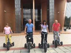 """След кмета, и служители на """"Тракия"""" се качват на три гуми"""