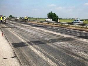 Спират ремонтите по магистрала Тракия, ограничават движението на тировете