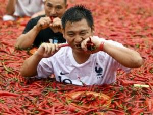 В Китай започна фестивалът на лютата чушка