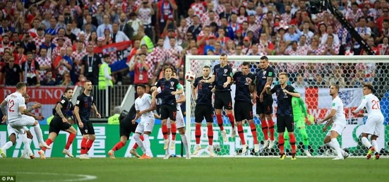 Хърватия - Англия 1:1 в истинска драма, ще има продължения