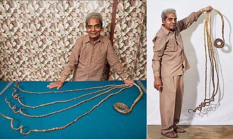 Човекът с най-дългите нокти в света вече си ги отряза ВИДЕО