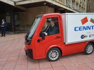 Китайци сглобяват електро камиони край Пловдив, наемат 150 души