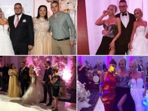 Пищна сватба вдигнаха семейство Гущерови! Светлана с рокля на марката на Галена СНИМКИ