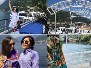 Пловдивчанка е единствената българка на яхт партито на Долче и Габана в езерото Комо СНИМКИ
