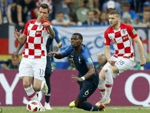 1:1 - Хърватия изравни на Франция