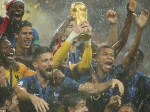 20 години по-късно Франция отново е световен шампион! СНИМКИ