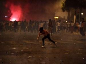 Френските фенове полудяха! Сблъсъци и арести след победата на петлите ВИДЕО и СНИМКИ