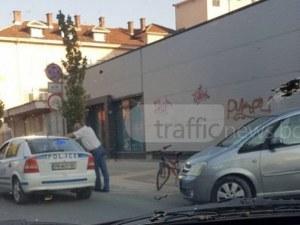 Блъснатият велосипедист в Пловдив се движил по велоалея, но не спрял на стоп линия СНИМКА