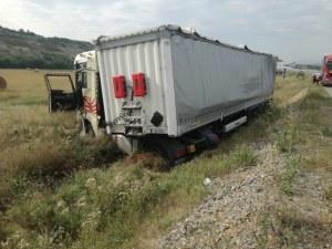 Катастрофа с камион блокира магистрала Струма СНИМКА