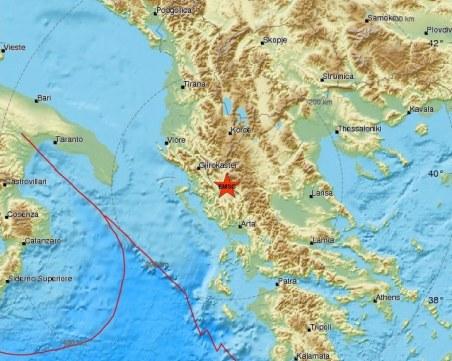 Трус със сила 4.2 по Рихтер разтърси Гърция