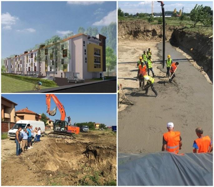 Впечатляващ старт на жилищния комплекс без аналог в най-зеления район на Пловдив СНИМКИ
