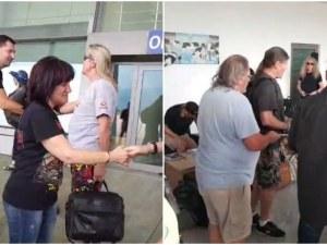 Iron Maiden кацнаха на летище Пловдив! Иван Тотев ги посрещна ВИДЕО