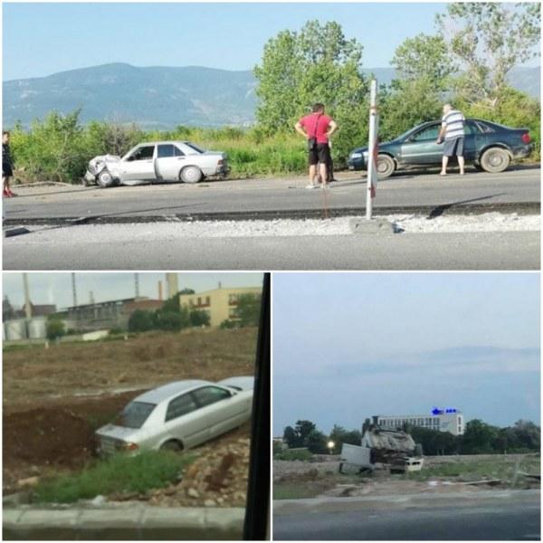 Кръговото кръстовище на КЦМ – непредвидимият капан за шофьорите СНИМКИ