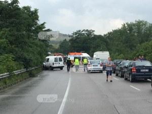 Зверска катастрофа в Пловдивско с жертва и ранени СНИМКИ+ВИДЕО