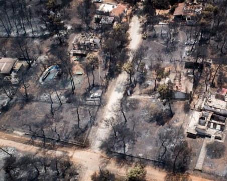 Гръцкото правителство планира да разруши 3100 незаконни сгради след пожара край Атина