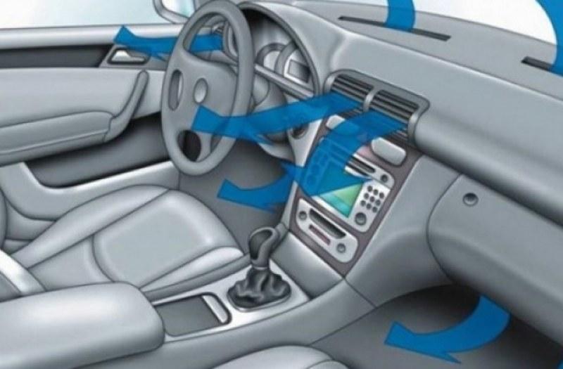 Не пускайте климатика веднага след стартирането на двигателя!