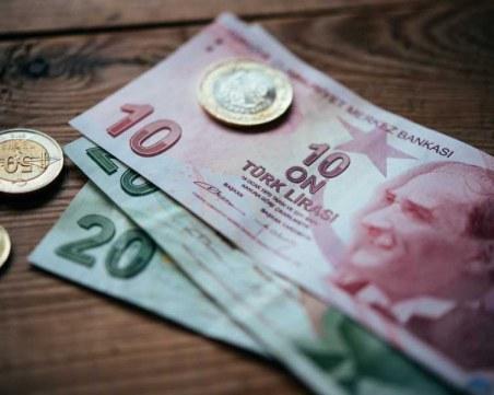 Турската лира отслабна до ново, рекордно ниско ниво