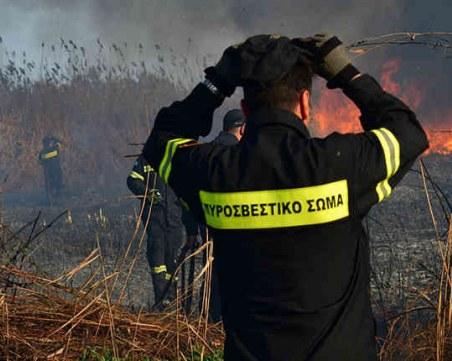 Нов пожар избухна край Атина, този път в селището Неа Макри