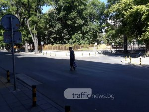 БМВ отнесе пенсионерка на пешеходна пътека в Пловдив