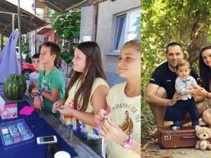 Прекрасни деца не оставят сам Наско от Пловдив в битката му с тежката болест СНИМКИ