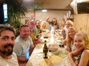 Мария Игнатова и Димитър Рачков заедно на ваканция в Тоскана