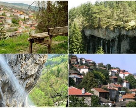 Само на 60 км от Пловдив: Китно селце, два водопада и скален феномен СНИМКИ