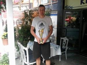 Избраха Митко Димитров за баскетболист на сезона в Пловдив