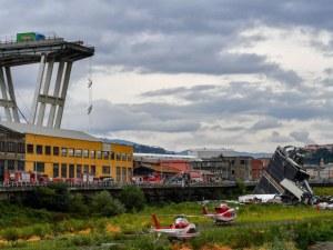 Компанията оператор на моста в Генуа от година знаела за проблемите му