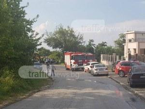 Огнеборец загина в обърнатата пожарна край Пловдив, има ранени СНИМКИ+ВИДЕО