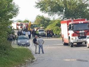 Пострадалите край Пловдив огнеборци са откарани в софийска болница ВИДЕО и СНИМКИ