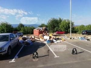 Сагата със сметището пред комплекс в Кючука продължава СНИМКИ