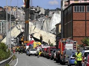 Скъсан тирант е довел до рухването на моста в Генуа