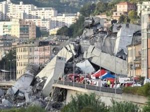 Вдигат нов мост на мястото на рухналия виадукт в Генуа