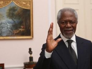 Почина бившият генерален секретар на ООН Кофи Анан