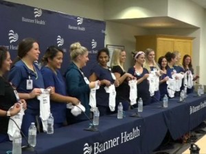 Необичайно съвпадение: 16 медицински сестри от едно отделение забременяха