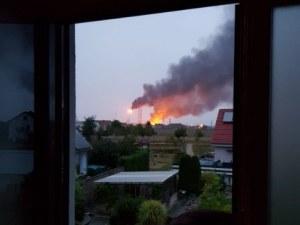 Взрив избухна в рафинерия в Германия, има тежко ранени ВИДЕО и СНИМКИ